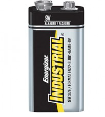 Product Photo: 9 VOLT INDUSTRIAL BATTERY UP268 12/BX